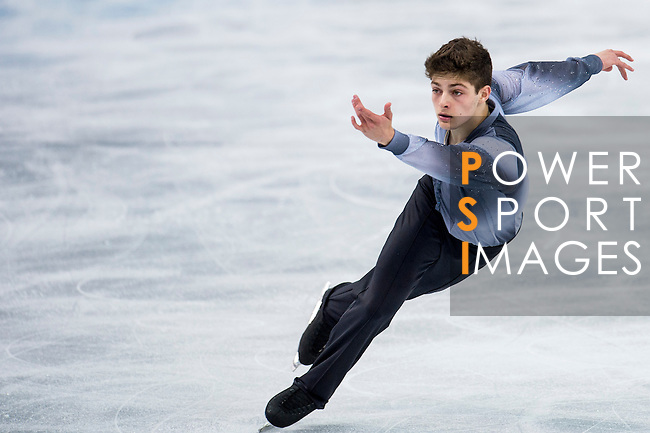 Brendan Kerry of Australia competes during Figure Skating Men's Short Program of the 2014 Sochi Olympic Winter Games at Iceberg Skating Palace on February 12, 2014 in Sochi, Russia. Photo by Victor Fraile / Power Sport Images