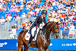 Charlotte Dujardin riding Mount St John Freestyle. GBR. FEI Grand Prix Dressage. Team. Day 3. World Equestrian Games. WEG 2018 Tryon. North Carolina. USA. 13/09/2018. ~ MANDATORY Credit Elli Birch/Sportinpictures - NO UNAUTHORISED USE - 07837 394578