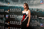 Actress Maria Valverde at the premiere of the movie Exodus in Madrid. 2014/12/04. Samuel de Roman / Photocall3000.