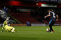 Filipe Morais of Stevenage scores the opening goal<br />  - Crewe Alexandra v Stevenage - Sky Bet League One - Alexandra Stadium, Gresty Road, Crewe - 22nd October 2013. <br /> © Kevin Coleman 2013