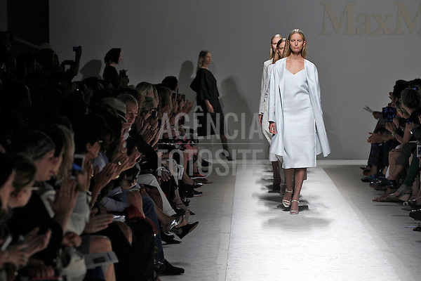 Milao, Italia &sbquo;19/09/2013 - Desfile de Max Mara durante a Semana de moda de Milao  -  Verao 2014. <br /> Foto: FOTOSITE