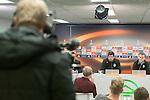 08-12-2015, Persconferentie, FC, Europees, Euroborg, trainer Erwin van de Looi of FC Groningen, Albert Rusnak of FC Groningen,