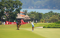 Nelly Korda (USA) in action on the 18th during Round 4 of the HSBC Womens Champions 2018 at Sentosa Golf Club on the Sunday 4th March 2018.<br /> Picture:  Thos Caffrey / www.golffile.ie<br /> <br /> All photo usage must carry mandatory copyright credit (&copy; Golffile | Thos Caffrey)