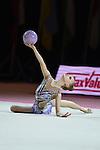 Alina Ermolova (RUS), <br /> OCTOBER 4, 2015 - Rhythmic Gymnastics : <br /> AEON CUP 2015 Worldwide R.G. Club Championships <br /> Junior Individual <br /> at Tokyo Metropolitan Gymnasium, Tokyo, Japan. <br /> (Photo by AFLO SPORT)