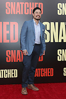 """LOS ANGELES - MAY 10:  Randall Park at the """"Snatched"""" World Premiere at the Village Theater on May 10, 2017 in Westwood, CA"""