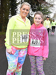 Lisa O'Neill and Jayden Fogarty who took part in Erin's Run. Photo:Colin Bell/pressphotos.ie