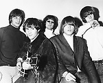 BYRDS 1966 Gene Clark, David Crosby, Roger McGuinn,Michael Clarke, Chris Hillman..© Chris Walter..