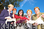 Members of Killarney Soroptimists and Killarney Bank of Ireland who are collecting bras for the a 70mile bra link in aid of Brest Cancer awareness l-r:  Noeleen O'Sullivan, Siobhain Kissane, Anne Lucey president, Kay Mahony and Sheila Casey   Copyright Kerry's Eye 2008