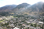 1309-22 0230<br /> <br /> 1309-22 BYU Campus Aerials<br /> <br /> Brigham Young University Campus West looking East, Provo, Sunrise, Y Mountain, South Campus<br /> <br /> September 6, 2013<br /> <br /> Photo by Jaren Wilkey/BYU<br /> <br /> &copy; BYU PHOTO 2013<br /> All Rights Reserved<br /> photo@byu.edu  (801)422-7322