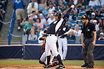 Alex Rodriguez (Yankees),<br /> MARCH 12, 2015 - MLB :<br /> Alex Rodriguez of the New York Yankees stretches at bat during a spring training baseball game against the Atlanta Braves at George M. Steinbrenner Field in Tampa, Florida, United States. (Photo by Thomas Anderson/AFLO) (JAPANESE NEWSPAPER OUT)