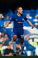 Chelsea's Cesar Azpilicueta reacts <br /> <br /> Photographer Craig Mercer/CameraSport<br /> <br /> The Premier League - Chelsea v Liverpool - Sunday 6th May 2018 - Stamford Bridge - London<br /> <br /> World Copyright &copy; 2018 CameraSport. All rights reserved. 43 Linden Ave. Countesthorpe. Leicester. England. LE8 5PG - Tel: +44 (0) 116 277 4147 - admin@camerasport.com - www.camerasport.com