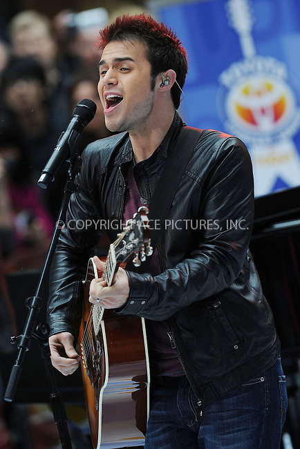 WWW.ACEPIXS.COM . . . . . ....May 28 2009, New York City....American Idol winner Kris Allen performed live on NBC's 'Today' show at the Rockefeller Plaza on May 28 2009 in New York City.....Please byline: KRISTIN CALLAHAN - ACEPIXS.COM.. . . . . . ..Ace Pictures, Inc:  ..tel: (212) 243 8787 or (646) 769 0430..e-mail: info@acepixs.com..web: http://www.acepixs.com