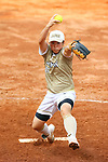 Yamato Fujita (JPN), <br /> AUGUST 24, 2018 - Softball : <br /> Women's Final match <br /> between Japan 7-0 Chinese Taipei <br /> at Gelora Bung Karno Softball field <br /> during the 2018 Jakarta Palembang Asian Games <br /> in Jakarta, Indonesia. <br /> (Photo by Naoki Nishimura/AFLO SPORT)