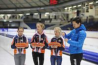 SCHAATSEN: HEERENVEEN: IJsstadion Thialf, 30/31-01-15, Viking Race, Internationaal Jeugdtoernooi 11-16 jaar, Jesper Hospes, ©foto Martin de Jong