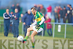 Barry John Keane  Kerry in action against   Cork IT in the semi final of the McGrath Cup at John Mitchells Grounds on Sunday.