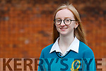 Majella Votta Mercy Mounthawk Secondary School, Tralee who was winner of the (Senior Category Award and over all winner of the Seamus Heaney Poetry Aloud Award).