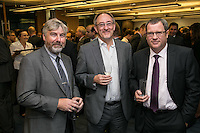 Left to right: Phil Coleman of Baker Tilley, John Murphy of Sterling Capital Reserve and John Clay of Handelsbanken