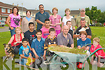 BIG CLEAN UP: The residents of Carrig Li?, Tralee having a big summer clean up of their estate on Thursday pictured Shirley Mulcahy, Maureen O'Brien, Iftikhar Ahmed, Tayyab and Qassim Iftikha, Usman Butt, Maciey Masznicz, Eileen Burke, Patricia Griffin, Joe Looney, Liam Burke, Tony Tuite, Ca?it and Se?amus Looney.