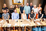 New Frontiers from the Tom Creen Centre in the IT enjoying the evening in the Croi Restaurant on Friday.<br /> Seated l to r: Keith Lyon, Eoin Ferris, Clair Kelly, Kayley Breen and Aoife Quill.<br /> Back l to r: Laura Malone, Sarah Flaherty, Eve Savage, Leo Bellamy, Robert Dudek, Mike Breen, Jo Arbon and Caroline Birch.