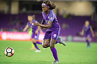Orlando, FL - Thursday September 07, 2017: Chioma Ubogagu during a regular season National Women's Soccer League (NWSL) match between the Orlando Pride and the Seattle Reign FC at Orlando City Stadium.