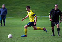 Action from the Wellington Trevor Rigby Cup premier youth grade football match between St Patrick's College Silverstream and Wairarapa at St Pat's Silverstream in Upper Hutt, New Zealand on Saturday, 16 June 2018. Photo: Charley Lintott / lintottphoto.co.nz