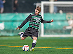 3 October 2015: Binghamton University Bearcat Forward/Midfielder Pascal Trappe, a graduate from Berlin, Germany in action against the University of Vermont Catamounts at Virtue Field in Burlington, Vermont. The Bearcats held on to defeat the Catamounts 2-1 in America East conference play. Mandatory Credit: Ed Wolfstein Photo *** RAW (NEF) Image File Available ***