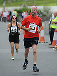 Ken Bell Running in the Clogherhead 10k. Photo: Colin Bell/pressphotos.ie