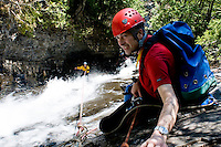 Canyoning Charlevoix, Quebec, Canada