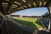 General view of Meadow Lane during the Sellebrity Soccer (Celebrity) Event in aid of Capital FM's Charity Global's Make Some Noise at Meadow Lane, Nottingham, England on 4 October 2015. Photo by Andy Rowland.