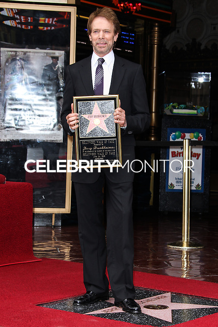 HOLLYWOOD, CA - JUNE 24: Jerry Bruckheimer attends the ceremony honoring him with a Star on The Hollywood Walk of Fame held in front of El Capitan Theatre on June 24, 2013 in Hollywood, California. (Photo by Celebrity Monitor)