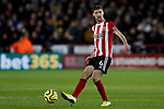 Chris Basham of Sheffield United during the Premier League match at Bramall Lane, Sheffield. Picture date: 5th December 2019. Picture credit should read: James Wilson/Sportimage