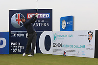 Andrea Pavan (ITA) and on the 10th tee during the Pro-Am of the Betfred British Masters 2019 at Hillside Golf Club, Southport, Lancashire, England. 08/05/19<br /> <br /> Picture: Thos Caffrey / Golffile<br /> <br /> All photos usage must carry mandatory copyright credit (© Golffile | Thos Caffrey)
