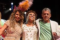 SÃO PAULO - SP. 15.02.2017 - SHOW-SP.  Chico Buarque , Elba Ramalho e Mariene de Castro durante Show de Verão da Mangueira, nesta quarta-feira, 15, no Tom Brasil, zona sul de São Paulo. (Foto: Ciça Neder / Brazil Photo Press)