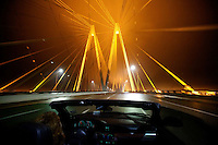 Fred Hartman Bridge in Houston, Texas - 2014