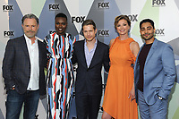 NEW YORK, NY - MAY 14: Bruce Greenwood, Shaunette Renee Wilson, Matt Czuchry, Emily VanCamp, and Manish Dayal at the 2018 Fox Network Upfront at Wollman Rink, Central Park on May 14, 2018 in New York City.  <br /> CAP/MPI/PAL<br /> &copy;PAL/MPI/Capital Pictures