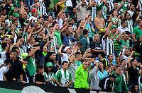 MEDELLÍN -COLOMBIA-3-ABRIL-2016.Hinchas Atlético Nacional .Acción de juego entre Atlético Nacional y Atlético Bucaramanga .Nacional ganó 7 goles por cero. Photo:VizzorImage / León Monsalve / Contribuidor