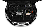 Car Stock 2019 Opel Insignia-Grand-Sport GSI 5 Door Hatchback Engine  high angle detail view