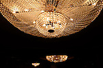 The Chandeliers at the Sofitel Wentworth Hotel in Sydney . Sydney, Australia. Wednesday,  March 20th  2013. (Photo: Steve Christo).