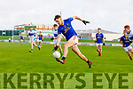 Mikey Boyle Dingle  in action against David Clifford East Kerry in the Semi Final of the Kerry Senior Football Championship between Dingle and East Kerry at Austin Stack Park on Sunday.