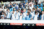 Youth Real Madrid's players attends to see the match  during La Liga match. April 09, 2016. (ALTERPHOTOS/Borja B.Hojas)