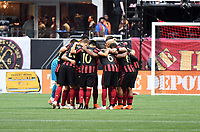 Atlanta, GA - May 08, 2019: Atlanta United defeated Toronto FC 2-0 at Mercedes-Benz Stadium.