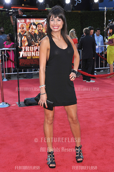 "Marcela Mar at the Los Angeles premiere of ""Tropic Thunder"" at the mann Village Theatre, Westwood..August 11, 2008  Los Angeles, CA.Picture: Paul Smith / Featureflash"