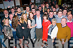 Declan Ryle,Gallowsfield,Tralee(front centre)got a monster surprise last Saturday night when he went for a jar in the Castle bar,Tralee with his wife and family to celebrate his 50th birthday only to find the bar stuffed with many many friends and family waiting inside to celebrate with him.