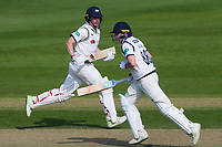 Picture by Alex Whitehead/SWpix.com - 21/04/2018 - Cricket - Specsavers County Championship Div One - Yorkshire v Nottinghamshire, Day 2 - Emerald Headingley Stadium, Leeds, England - Yorkshire's Gary Ballance and Harry Brook add runs.