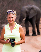 Photographer Jaki Miller on Safari in AFrica