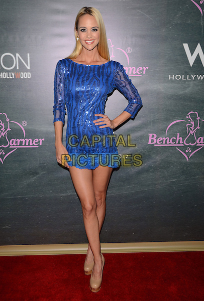 28 August 2014 - Hollywood, California - April Scott. Arrivals for the Benchwarmer Back to School Celebration to Benefit Children of the Night held at the W Hotel in Hollywood, Ca. <br /> CAP/ADM/BT<br /> &copy;BT/ADM/Capital Pictures