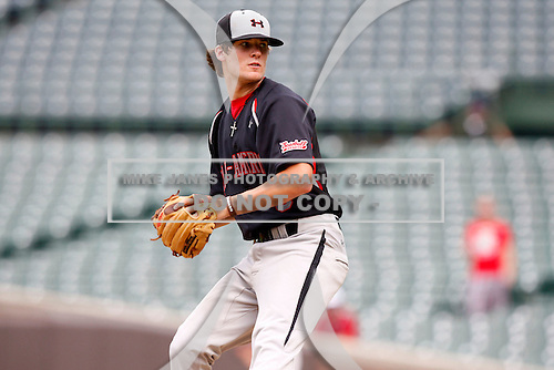 August 8, 2009:  Catcher/Pitcher Case Nixon (6) of the Baseball Factory team during the Under Armour All-America event at Wrigley Field in Chicago, Illinois.  (Copyright Mike Janes Photography)
