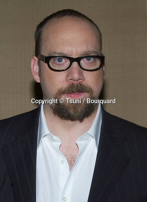 Paul Giamatti arriving at the 30th Annual Los Angeles Film Critics Association Awards at the St Regis Hotel in Los Angeles. January 13, 2005.