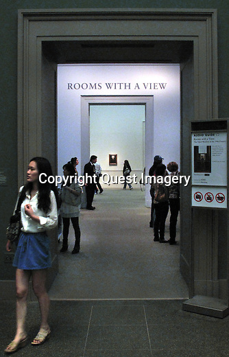 Scenes from The Metropolitan Museum of Art (MOMA) in New York City.<br />