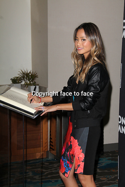 SANTA MONICA, CA - June 20: Jamie Chung at The 24 Hour Plays Los Angeles After-Party, Shore Hotel, Santa Monica, June 20, 2014. Credit: Janice Ogata/MediaPunch<br />